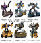"""miniature 4 - New In Stock Bruticus G1 Combaticons HZX 5 In 1 Action Figure IDW 12"""" Kids Toys"""
