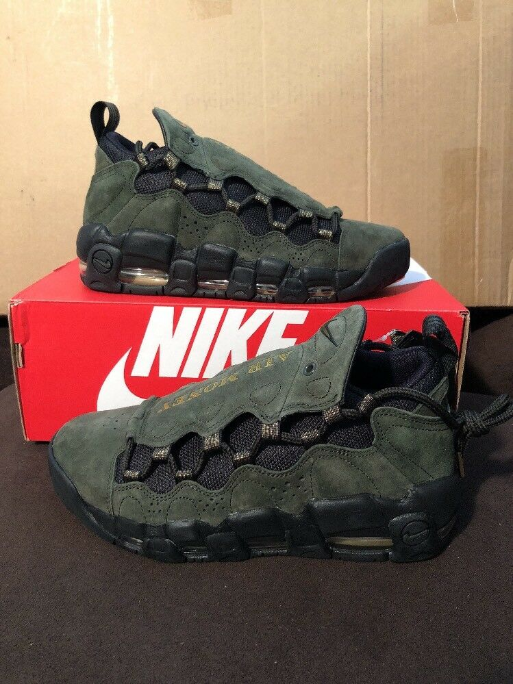 Nike Air More Money QS 2018 Currency Pack US Dollar AJ7383-300 Size 7