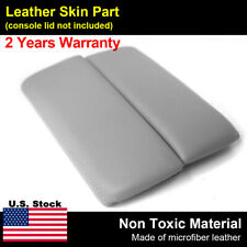 Leather Armrest Center Console Lid Cover Fits Mazda Cx 9 2010 2015 Light Gray Fits Mazda