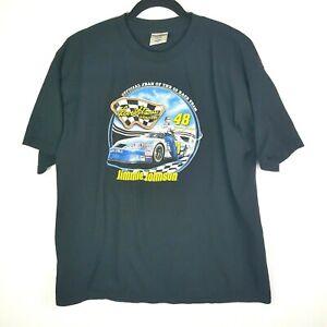 Vintage Levi Strauss Men's Jimmie Johnson NASCAR T Shirt Size XL #48