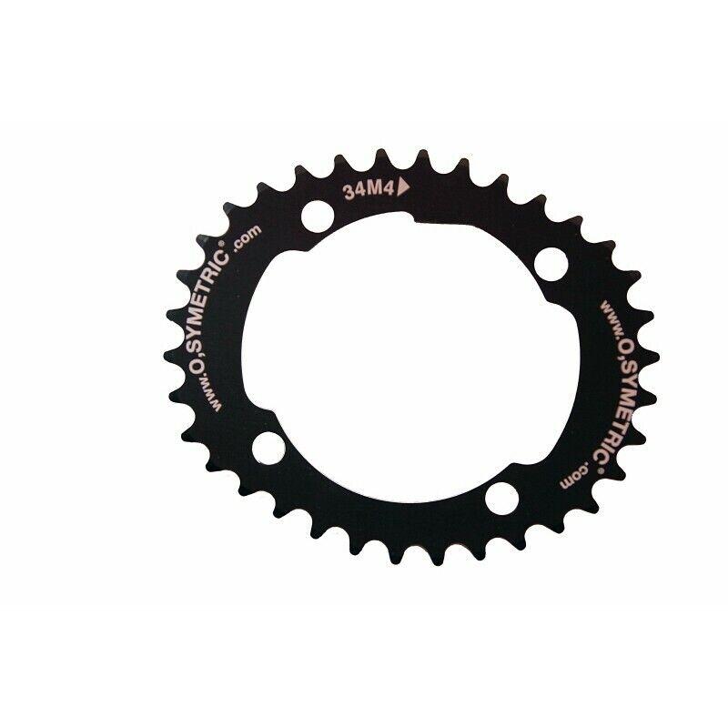 Brett Mountainbike O-SYMETRIC 34 dents BCD 104 schwarz - - - neu   | Großhandel  64b152