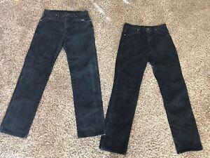 f7a1bd0e Wrangler Men's Jeans Size 33 X 34 Black Denim, Great Condition