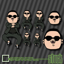 Gangnam Style Party Pack - 7 Vinyl Decal Sticker PSY MEME Funny Korea Rap JDM