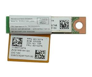 Lenovo ThinkPad Edge E220s Broadcom Bluetooth Drivers for Windows XP