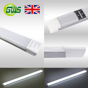 Details about Premium LED Batten Linear Tube Light Ceiling Lamp 120Lm/W 1FT  2FT 3FT 4FT 5FT