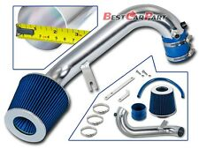BCP BLUE 01-05 Honda Civic 1.7L AT/MT Racing Air Intake Kit +Filter
