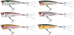 Yo-Zuri-3DR-Popper-Floating-Topwater-Popper-Bass-Fishing-Surface-Lure