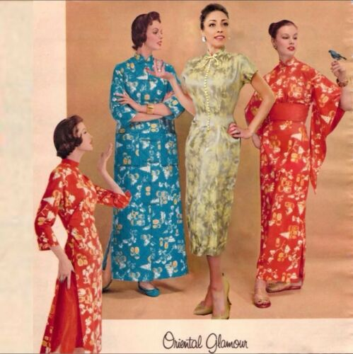 1950's Tailor Made Oriental Dress