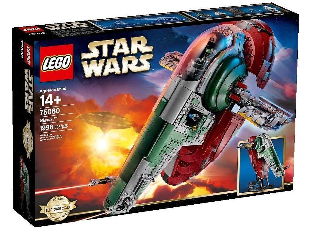 LEGO STAR WARS UCS COLECCIONISTAS 75060 ESCLAVO I NUEVO RARO