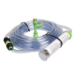 python no spill clean and fill aquarium water changer gravel vacuum 50ft hose ebay. Black Bedroom Furniture Sets. Home Design Ideas