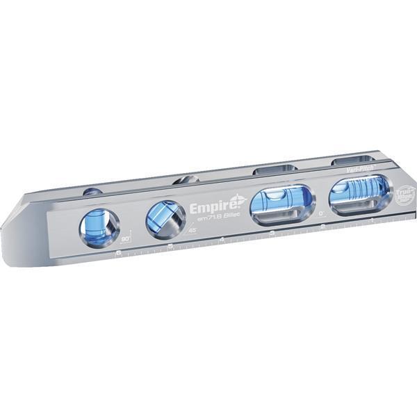 Milwaukee Empire True bluee 8  Length Aluminum Magnetic Bilet Torpedo Level