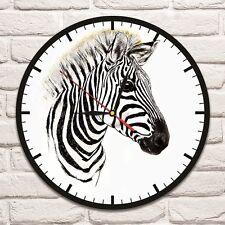Colore Zebra Design Vinile Record Orologio da parete casa ufficio negozio d'arte spostare Stanza Dei Giochi 1