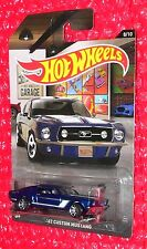 2016 Hot Wheels Garage #8  '67 CUSTOM MUSTANG DLV39-D910