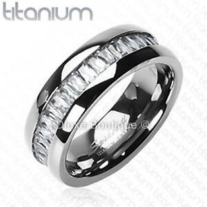 4-90-CT-PRINCESS-CUT-CZ-SOLID-TITANIUM-ETERNITY-WEDDING-RING-BAND-SIZE-6-14