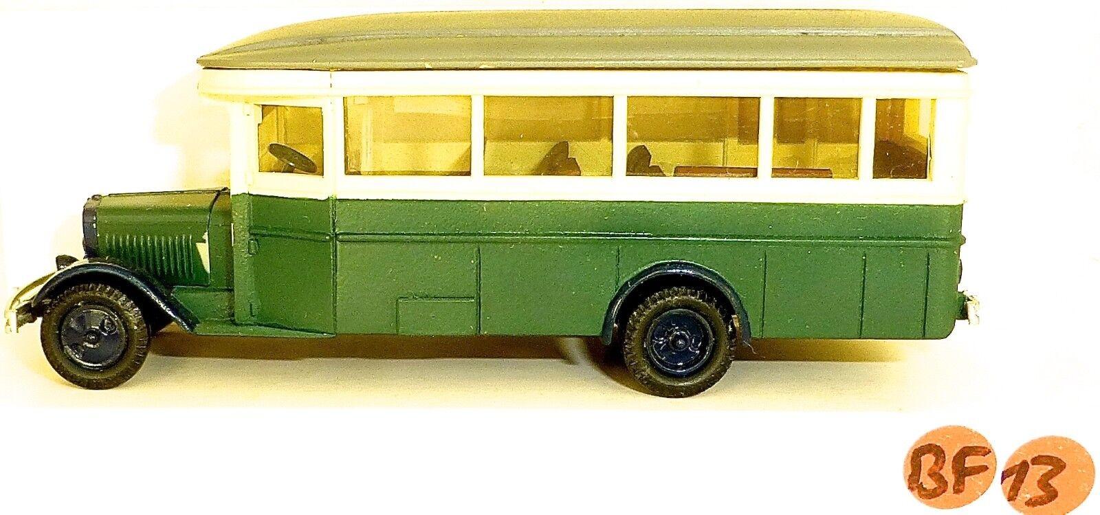 ZIS 8 verde biancao 2 ejes Resina Bus v&v H0 1 87 bf13 å