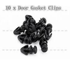 10Pcs Door Gasket Sill Seal Trim Fasten Clip Weatherstrip Fr Ford Mondeo MK2/3/4
