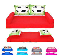 Children's Sofa / Bed From Foam Set 3in1 + 2pillows , Now 23 Colours