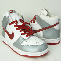finest selection b415f 6a95a NEW NIKE DUNK HIGH HI METALLIC SILVER SHOES SNEAKERS DEADSTOCK RARE SIZE  8.5 . ...