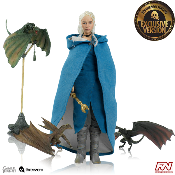 Game of Thrones GOT Daenerys Targaryen Exclusive Version 1/6 ThreeZero 3Z0018
