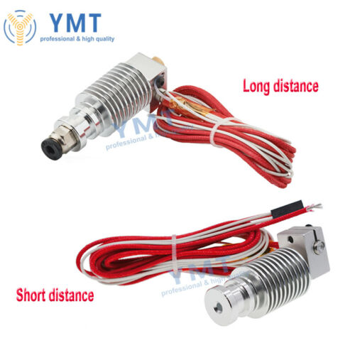 V6 All Metal J-head Hotend Extruder 1.75 3mm Filament 3D Printer Head
