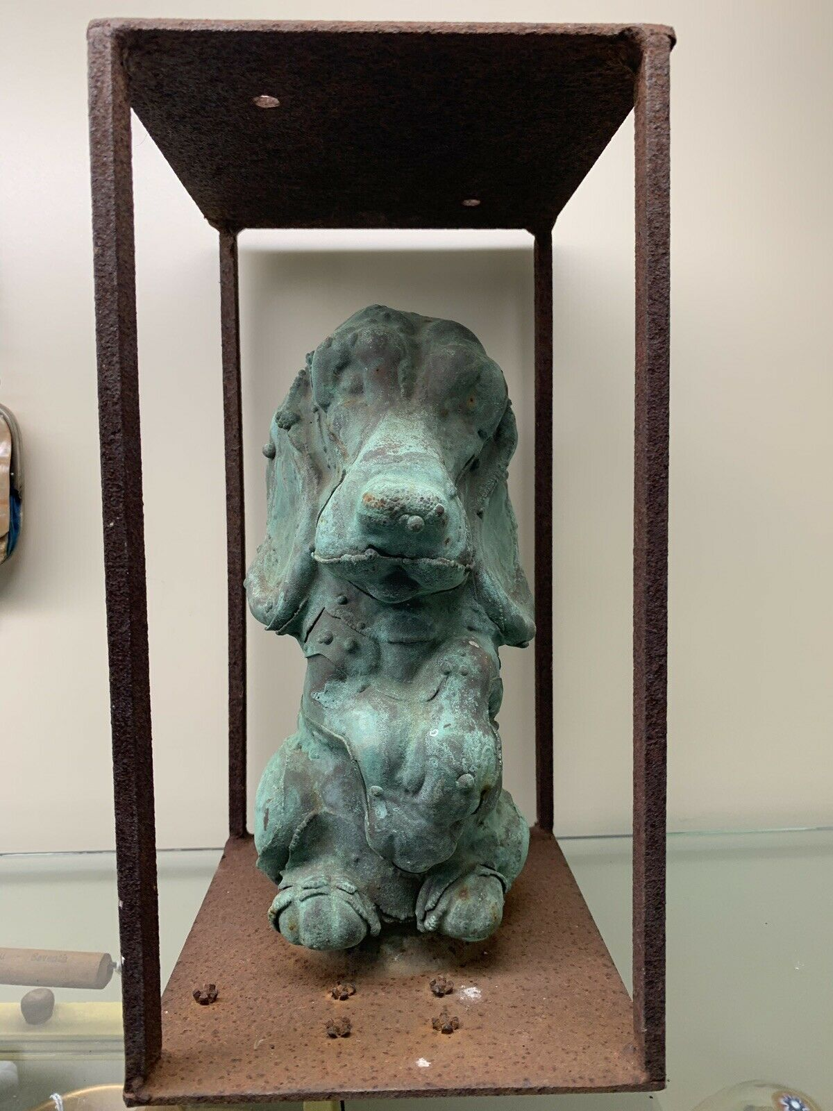 Sanitoy 1976 Hound Dog Copper Mold