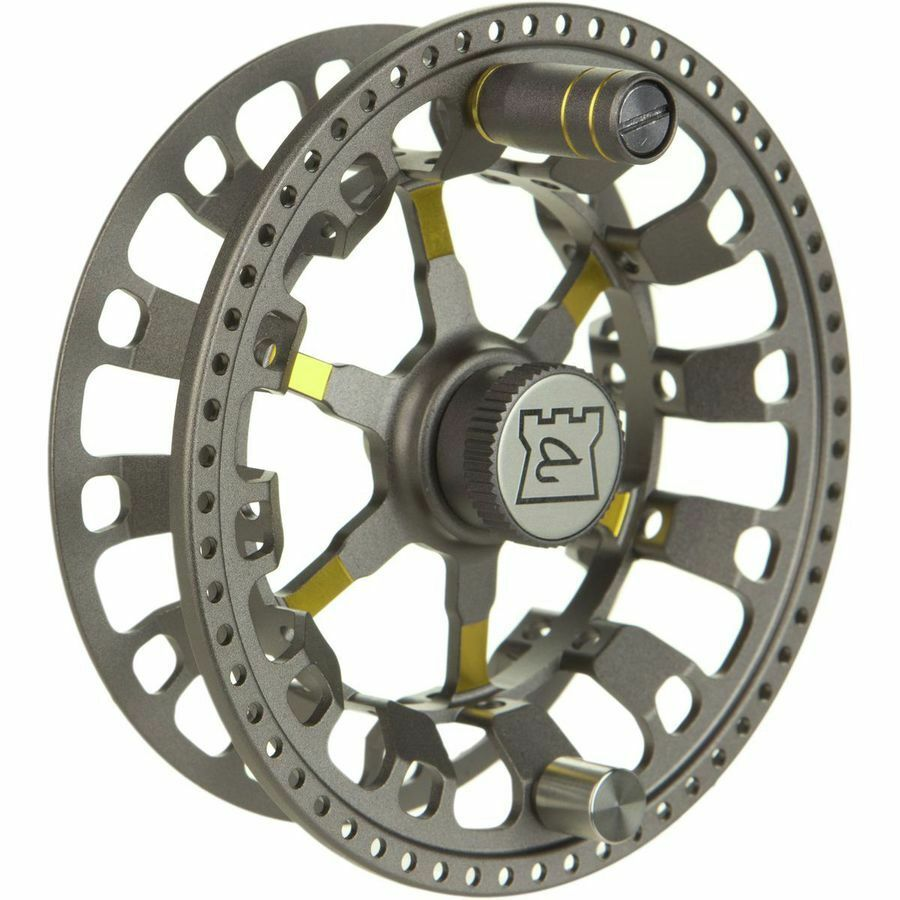 HARDY ULTRALITE CADD 5000 SPARE SPOOL IN TITANIUM FOR 57 WT FLY FISHING REEL