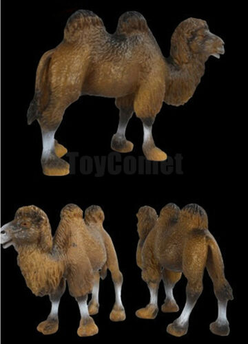 Realistic Camel Wild Animal Figure Solid Plastic Toy Model