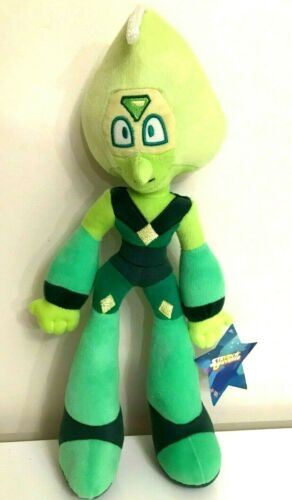 New Large Steven Universe Plush Peridot 16.5/'/' Green Doll Soft Rare Licensed