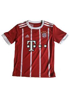 size 40 1207f 39f3f Details about Adidas FC Bayern Munich Children's Jersey Jersey Gr.140