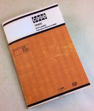 J I Case 1845c Uni Loader Skidsteer Operators Owners Manual 9 9830 Controls Lube