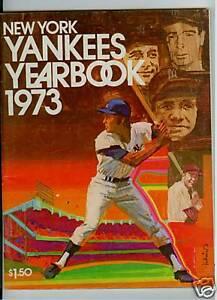1973 new york yankees mlb yearbook ebay