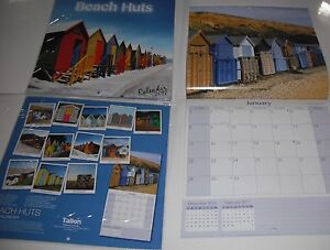2017 Square Month To View Scenic Photo Wall Calendar  Beach Huts - <span itemprop='availableAtOrFrom'>Tadworth, Surrey, United Kingdom</span> - 2017 Square Month To View Scenic Photo Wall Calendar  Beach Huts - <span itemprop='availableAtOrFrom'>Tadworth, Surrey, United Kingdom</span>