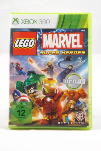 LEGO Marvel Super Heroes (Microsoft Xbox 360) Spiel in OVP, PAL, CIB, neuwertig