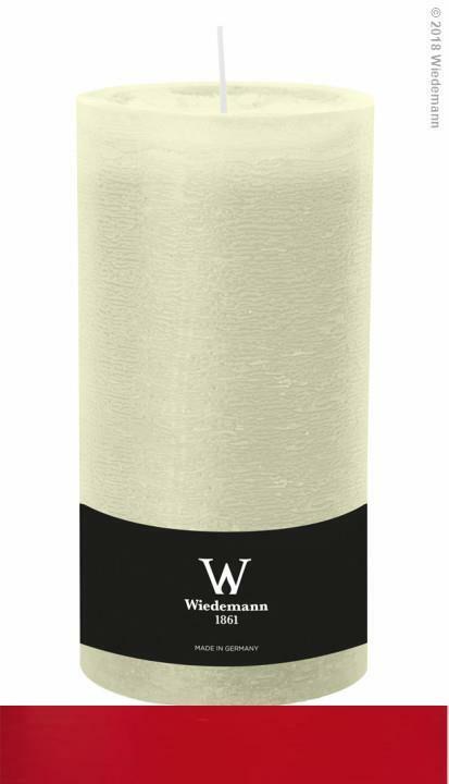 4x Wiedemann Marble Kerze durchgefärbt ASF 190 98mm (Farbwahl)