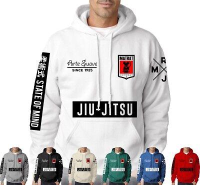 Tapis de rat jujitsu sweat à capuche mma clothing brazilian jiu jitsu arts martiaux ufc grappling