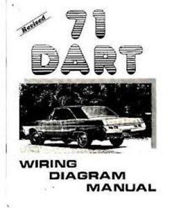 1971 dodge dart demon wiring diagram manual ebay rh ebay com 1972 dodge dart wiring diagram 1971 Dodge Dart Diecast