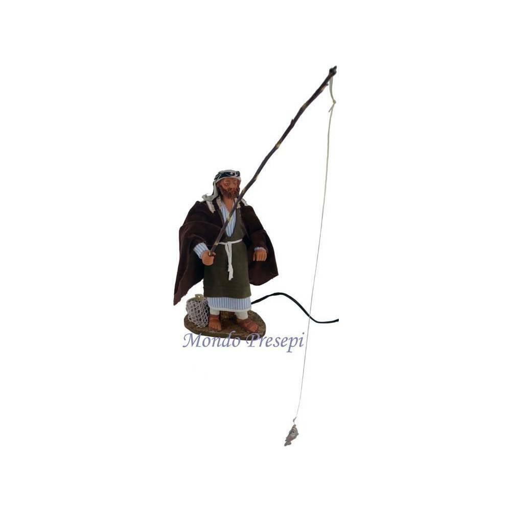 Pescatore cm 30 in movimento - Spedizione gratuita