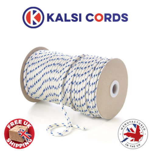 5mm STARTER MOTOR ENGINE PULL CORD PULLEY RECOIL ROPE SOLID BRAID FOR LAWNMOWERS