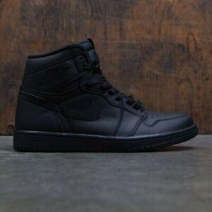3740be6b3af 2017 Nike Air Jordan 1 Retro High OG Triple Black Red Size 7. 555088 ...