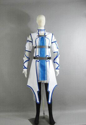 Hot Sword Art Online ALfheim Online Asuna Yuuki Cosplay Costume Hallow Christmas