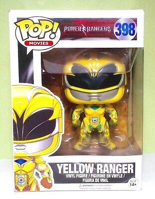 POP Movies Power Rangers Yellow Ranger #398 Vinyl Action Figure New Funko