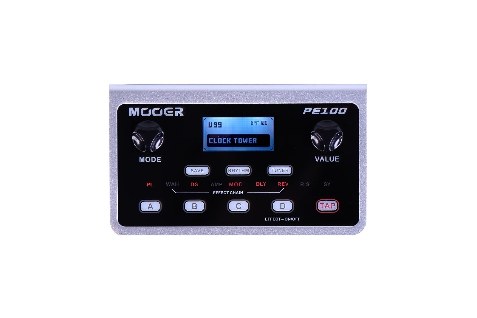 Mooer PE 100 Portable - Gitarren Multieffekt