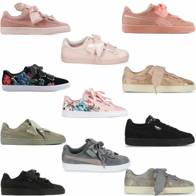 brand new 8b0f1 38adf Puma Suede Heart Womens Trainers~RRP £70-£80~Sizes UK 3 to 8