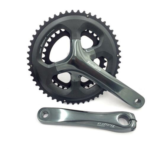Shimano FC-4700 Tiagra Double Road Bike Crankset BB-RS500 170mm 50-34//52-36T