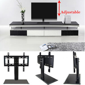 Universal-LED-LCD-Flat-Screen-TV-Table-Bracket-With-Stand-Base-fits-37-034-55-034-TV