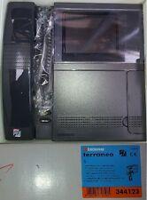 BTICINO Terraneo 344123 Pivot 2 fili colori videocitofono monitor grigio