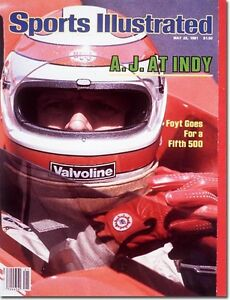 Image result for aj foyt sports illustrated cover
