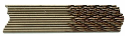"#65 .0350/"" Cobalt Jobber Length 135° Point Drills Pack of 12pcs USA #300C65"