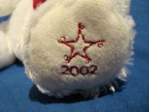 Christmas Sears charity 2002 Plush Polar Bear FLURRY