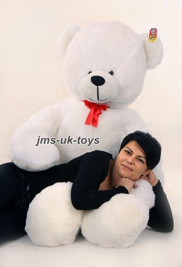 180 cm   GIANT LARGE BIG HUGE TEDDY BEAR Weiß great birthday wedding gift